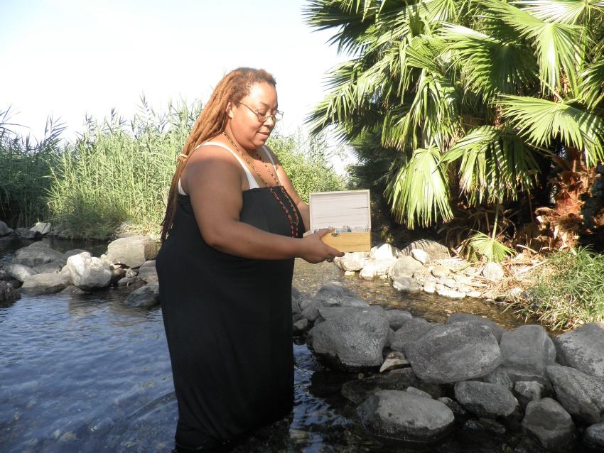 Consecrations and Oshun Fountain Dip Trip
